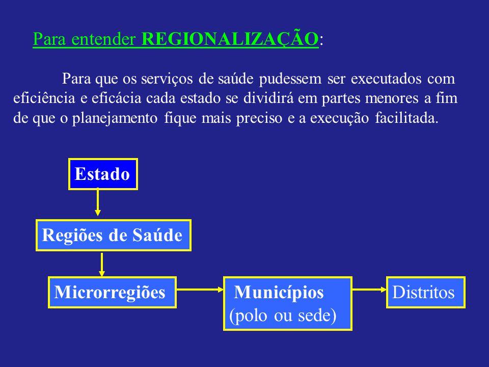 Para entender REGIONALIZAÇÃO: