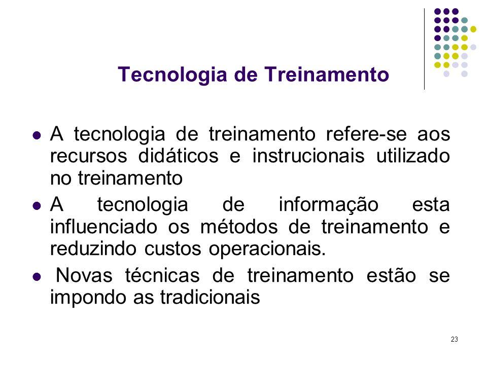 Tecnologia de Treinamento