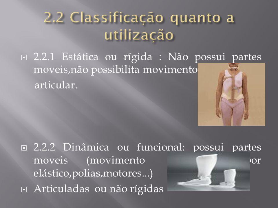 2.2 Classificação quanto a utilização