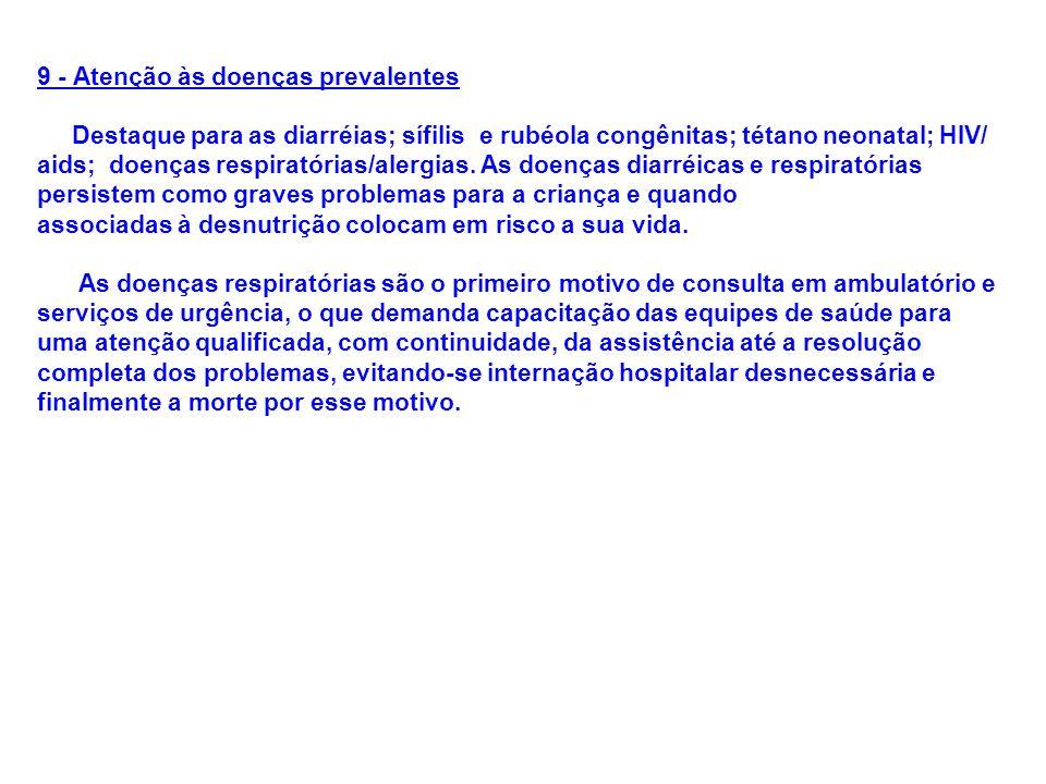 9 - Atenção às doenças prevalentes