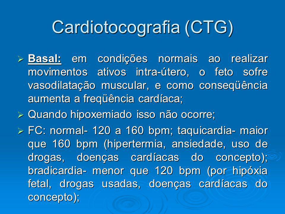 Cardiotocografia (CTG)