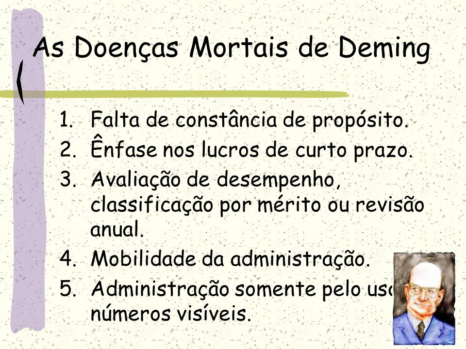 As Doenças Mortais de Deming