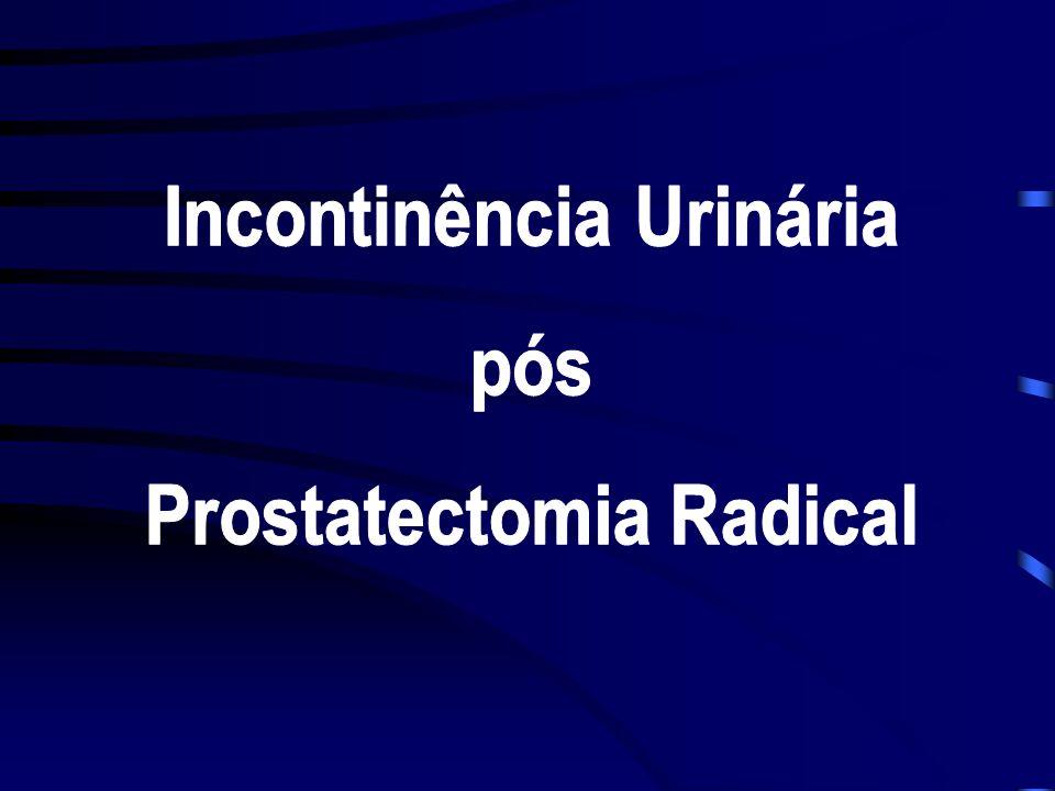 Incontinência Urinária Prostatectomia Radical