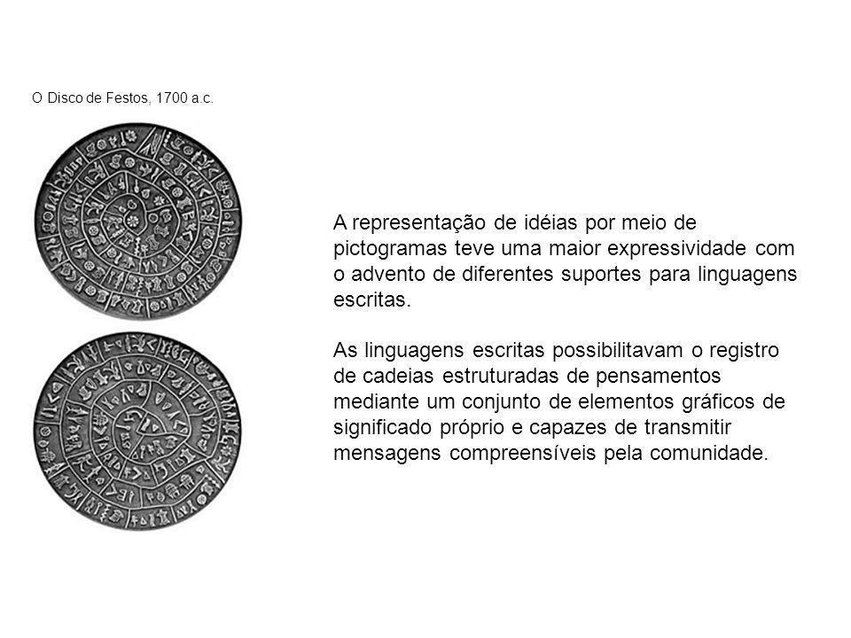O Disco de Festos, 1700 a.c.
