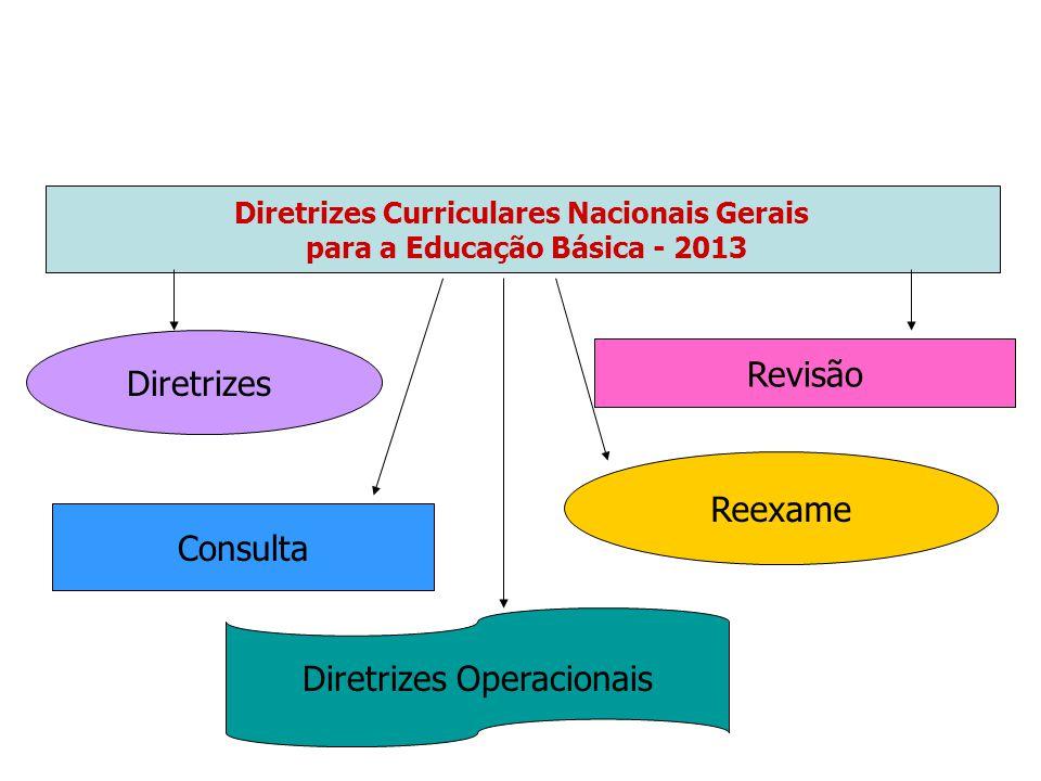 Diretrizes Curriculares Nacionais Gerais para a Educação Básica - 2013