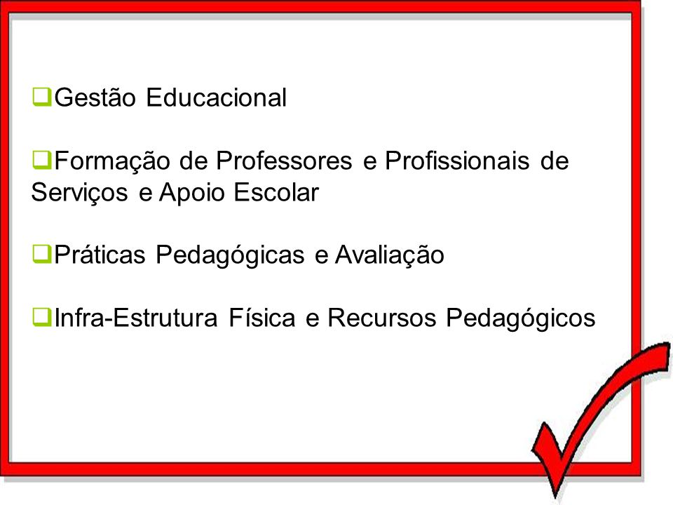 Gestão Educacional Formação de Professores e Profissionais de Serviços e Apoio Escolar. Práticas Pedagógicas e Avaliação.