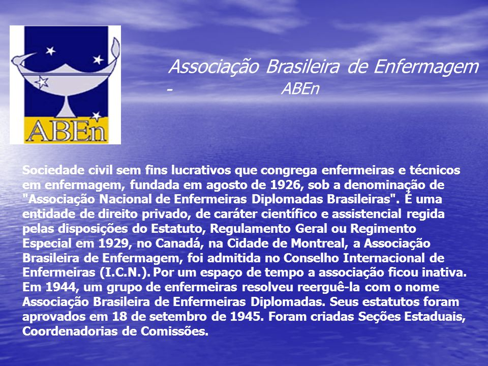 ABEn Associação Brasileira de Enfermagem -