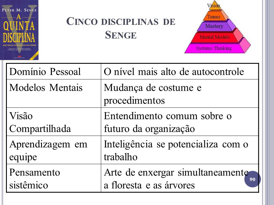 Cinco disciplinas de Senge