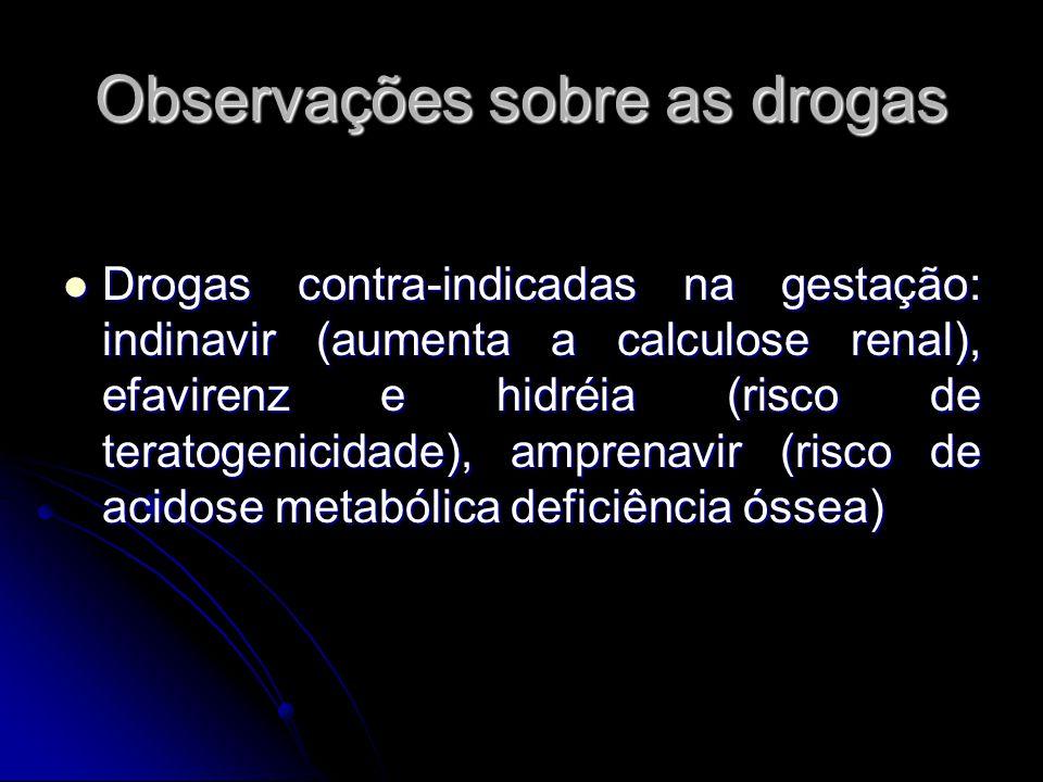 Observações sobre as drogas