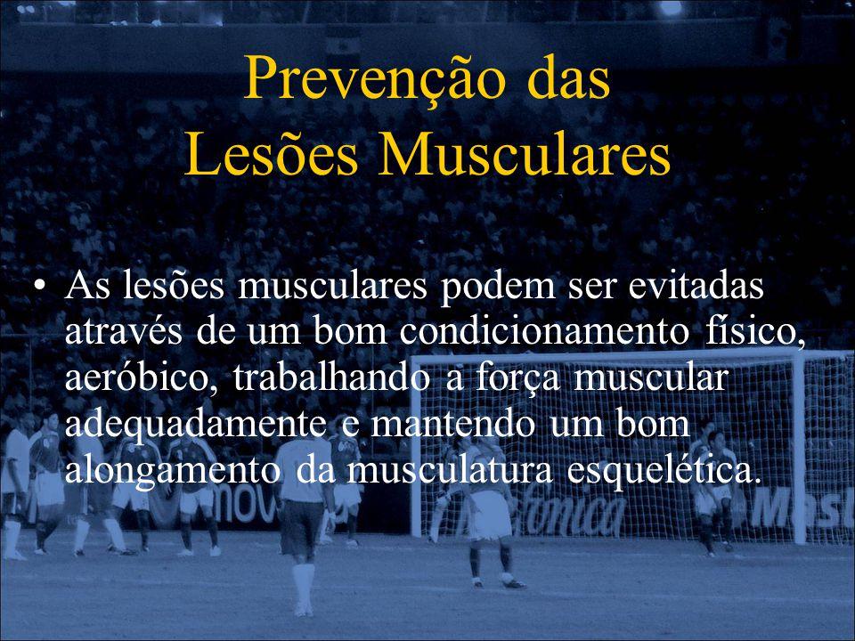 Prevenção das Lesões Musculares