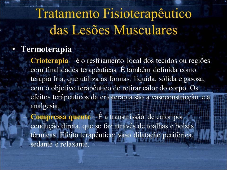 Tratamento Fisioterapêutico das Lesões Musculares