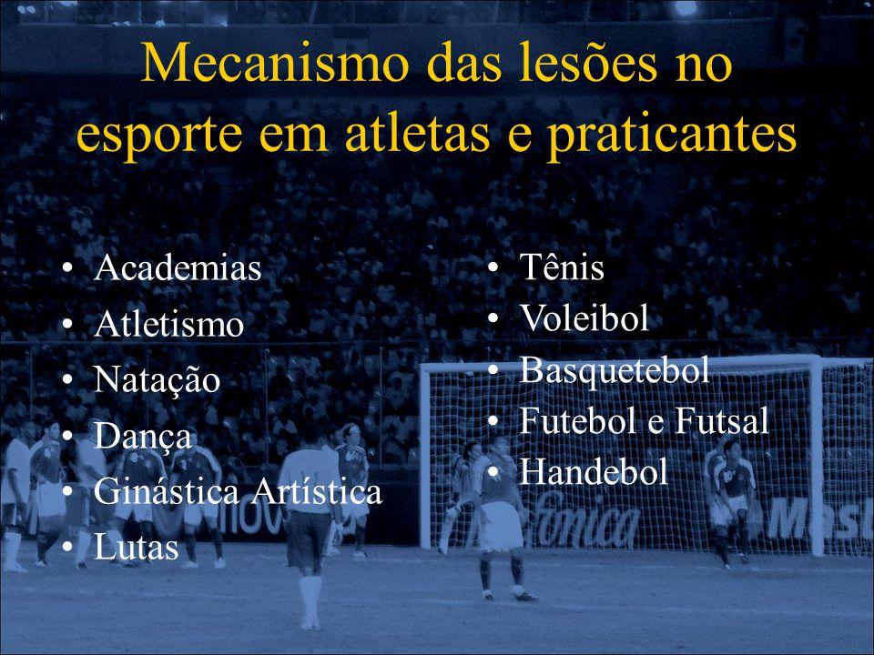 Mecanismo das lesões no esporte em atletas e praticantes