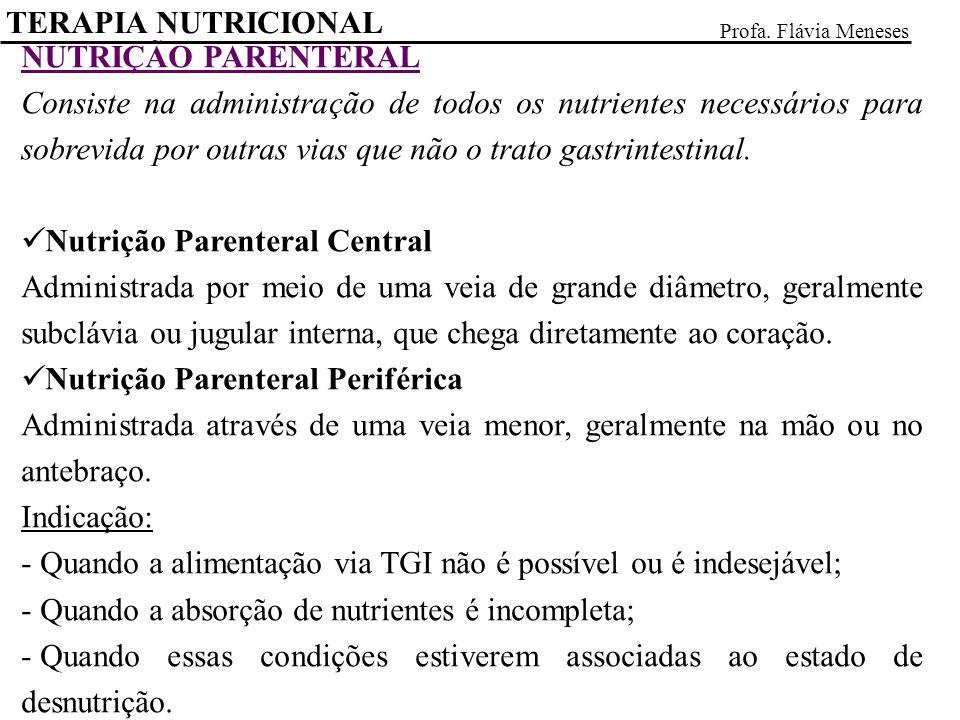 Nutrição Parenteral Central