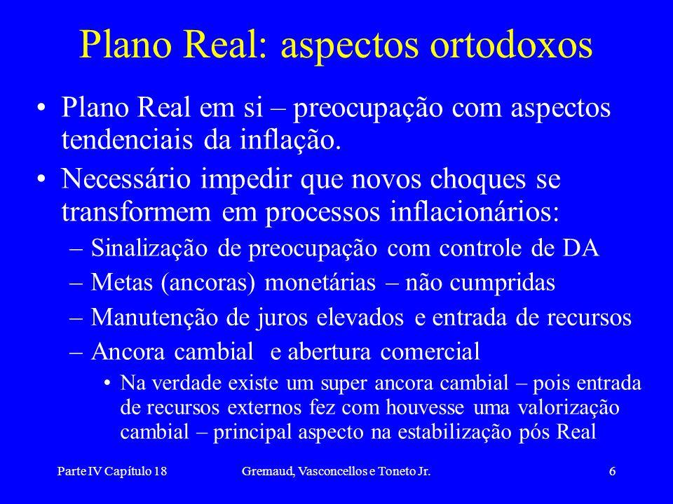 Plano Real: aspectos ortodoxos
