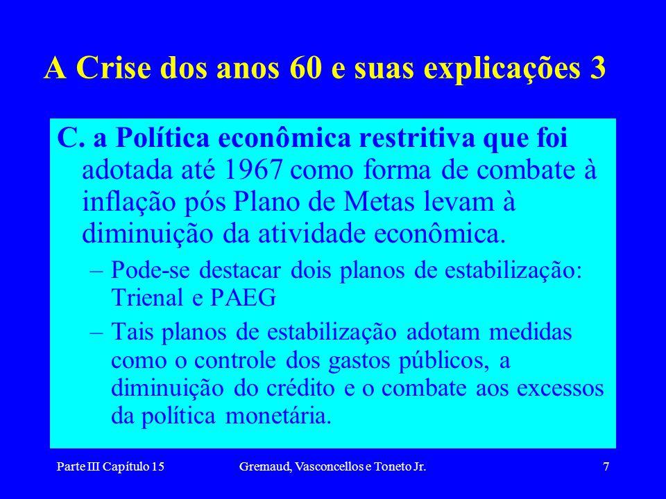 A Crise dos anos 60 e suas explicações 3
