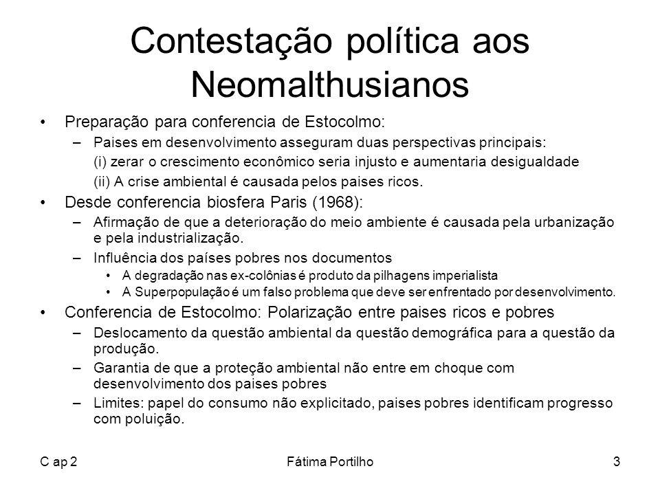 Contestação política aos Neomalthusianos