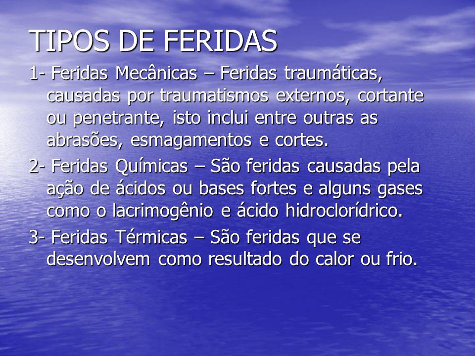 TIPOS DE FERIDAS