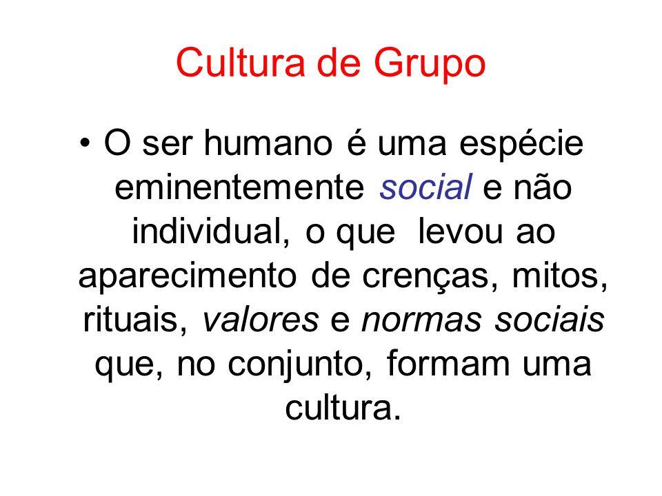 Cultura de Grupo