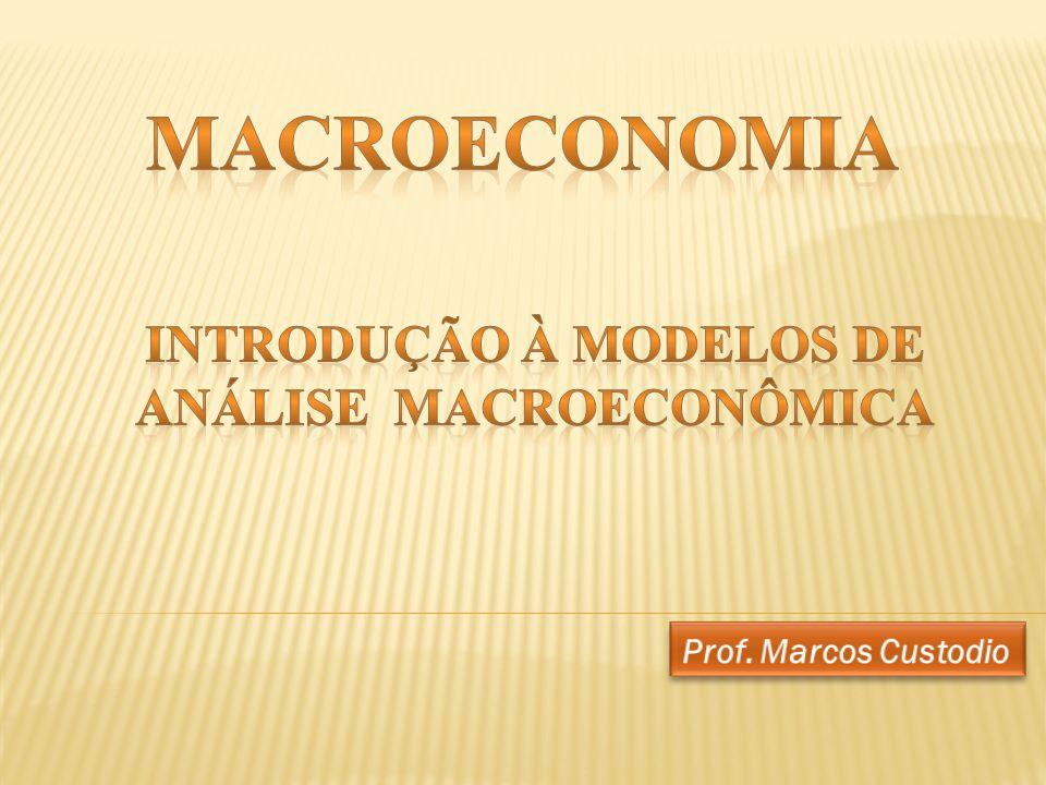 Introdução à Modelos de Análise Macroeconômica