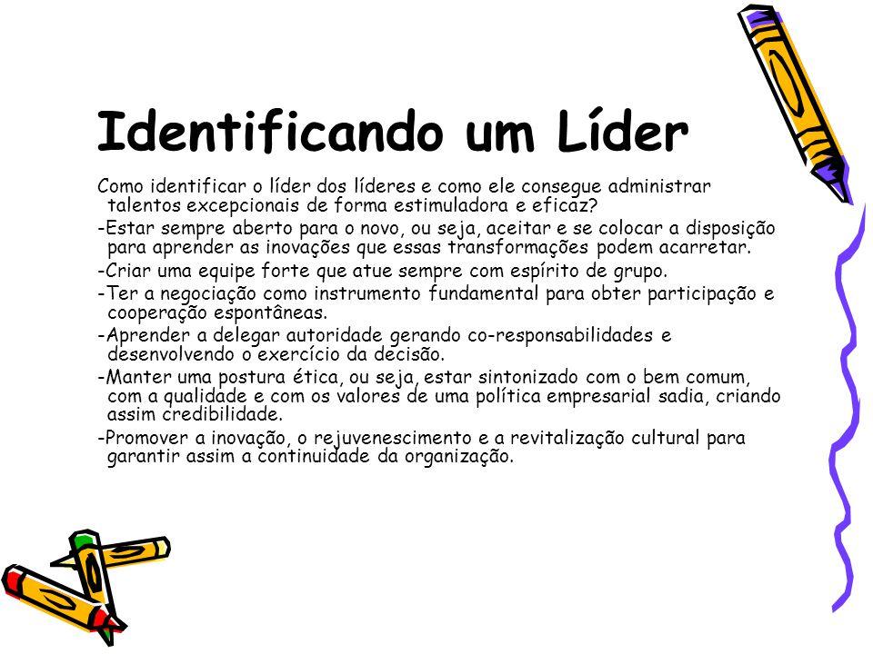Identificando um Líder