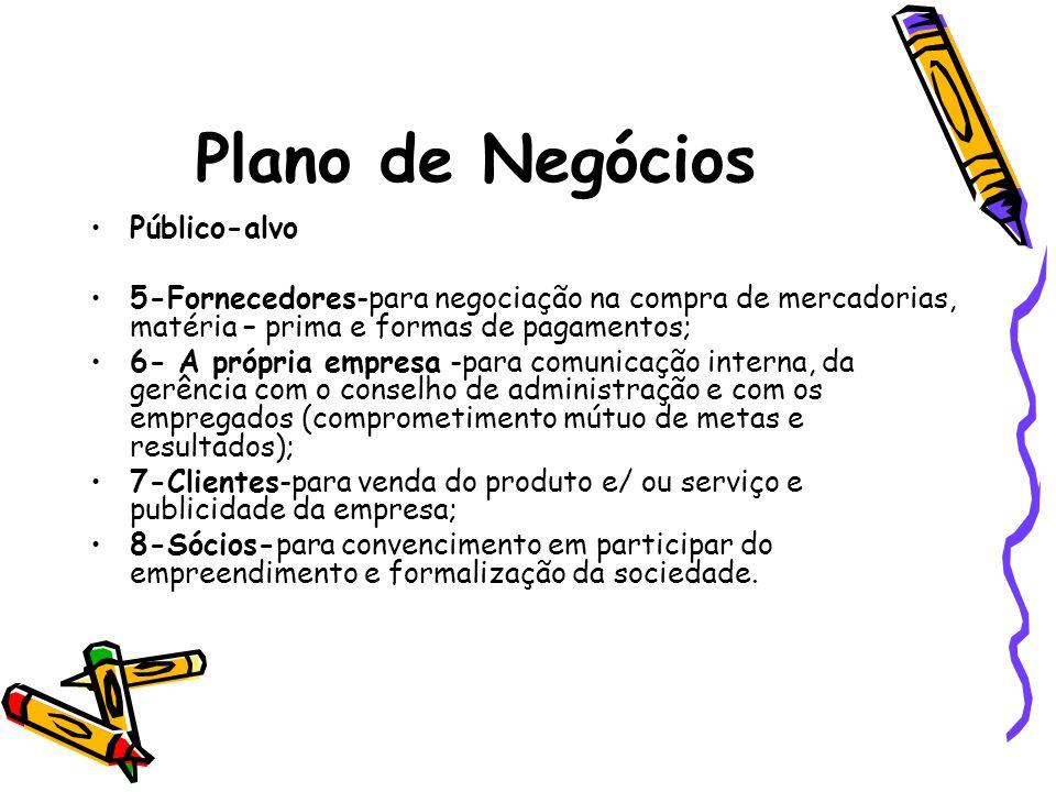 Plano de Negócios Público-alvo