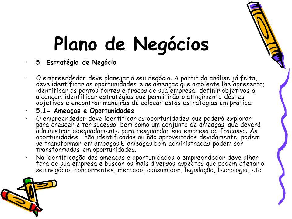 Plano de Negócios 5- Estratégia de Negócio