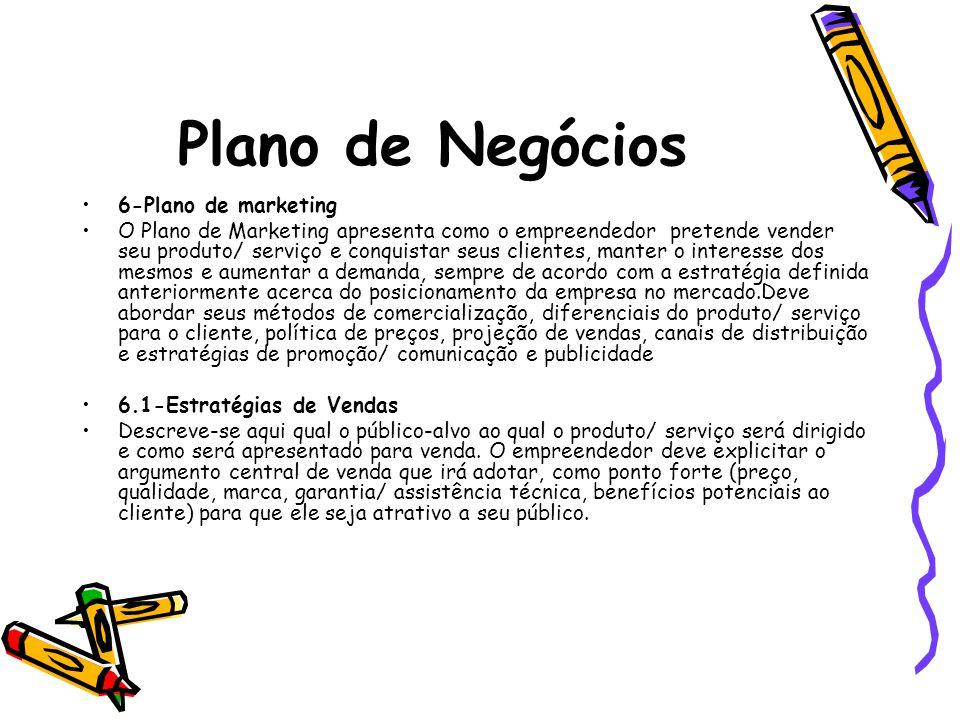 Plano de Negócios 6-Plano de marketing