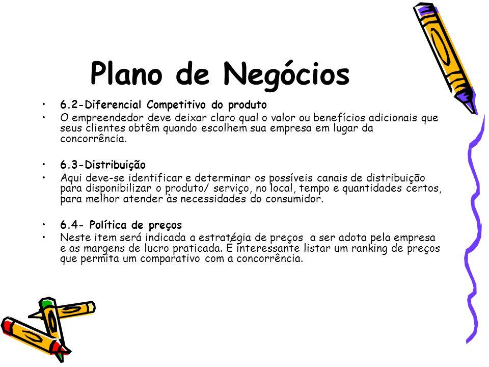 Plano de Negócios 6.2-Diferencial Competitivo do produto