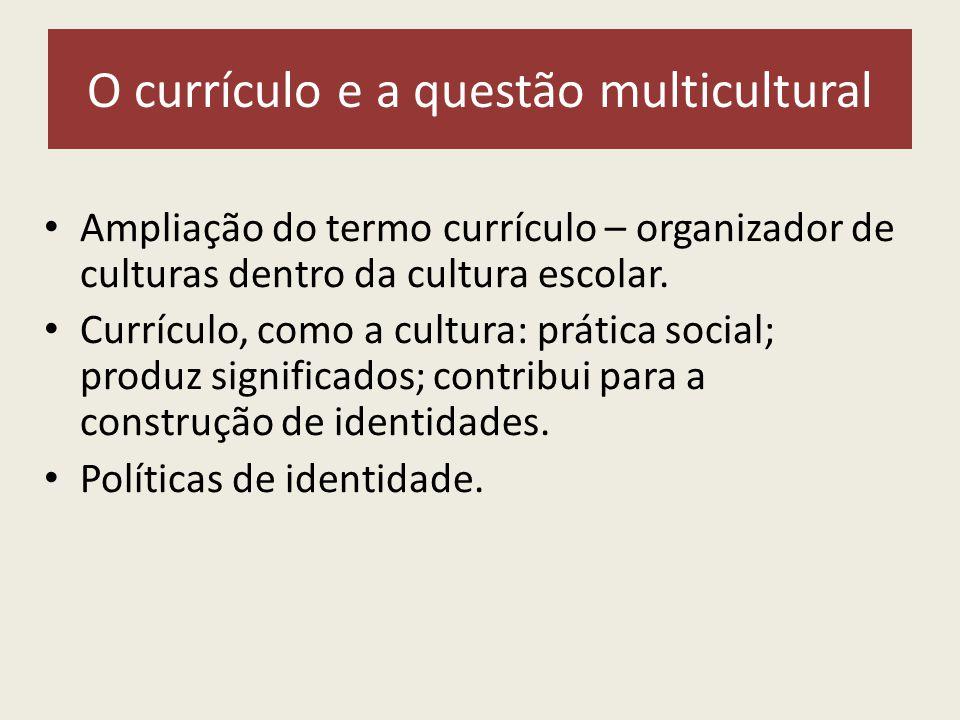 O currículo e a questão multicultural