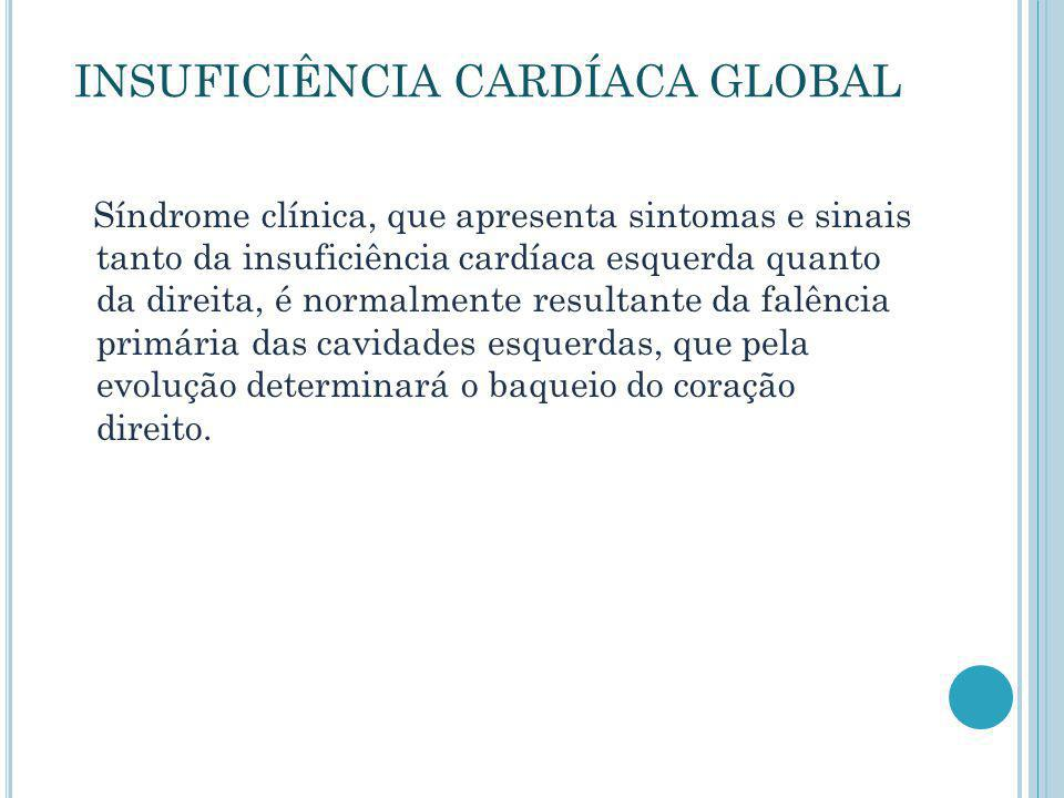 INSUFICIÊNCIA CARDÍACA GLOBAL