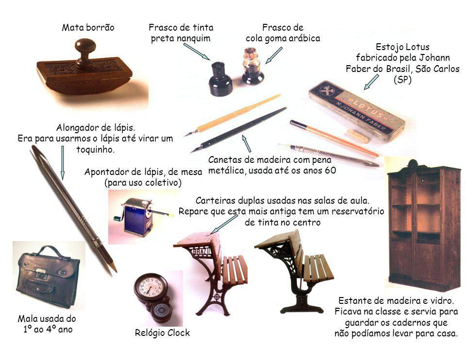 Estojo Lotus fabricado pela Johann Faber do Brasil, São Carlos (SP)