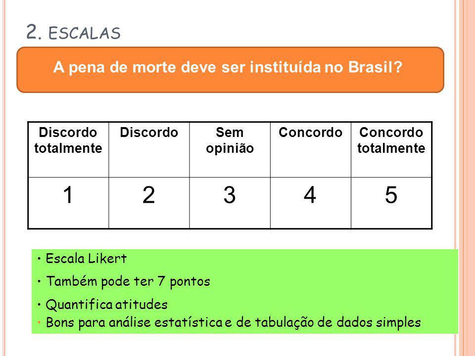 A pena de morte deve ser instituída no Brasil