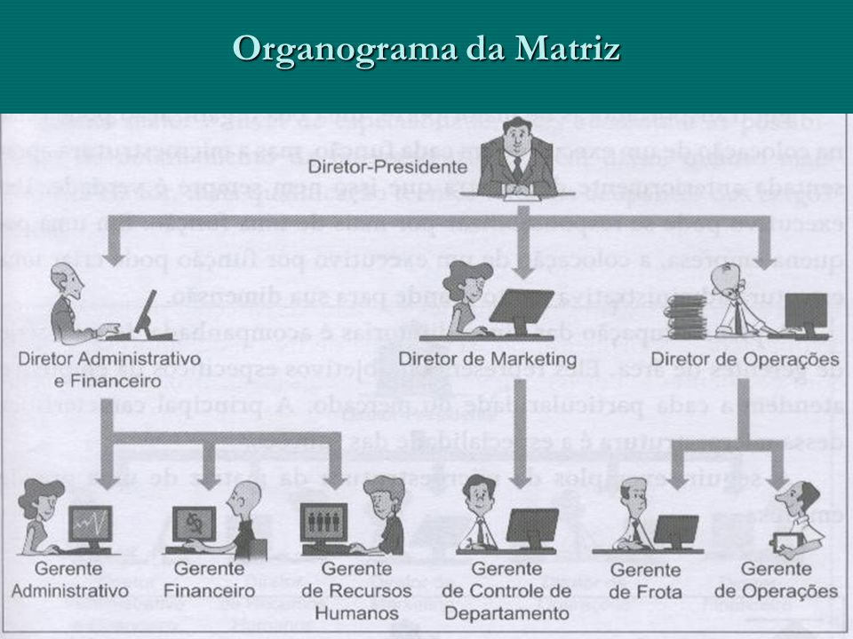 Organograma da Matriz