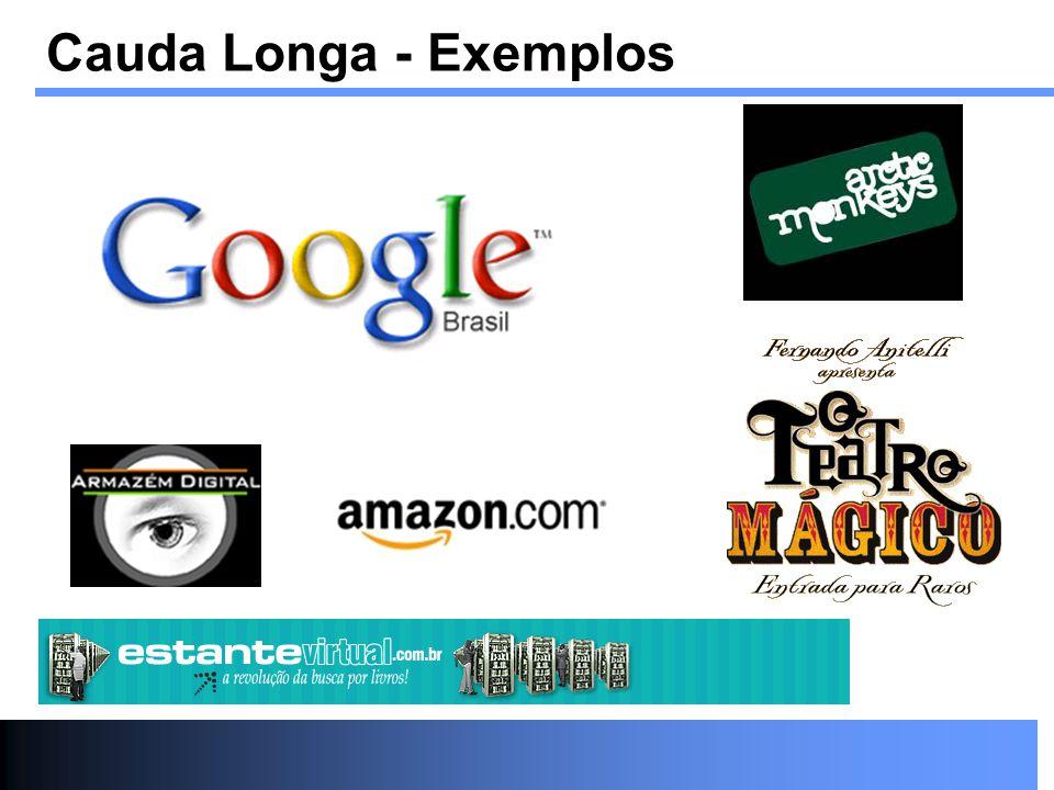 Cauda Longa - Exemplos