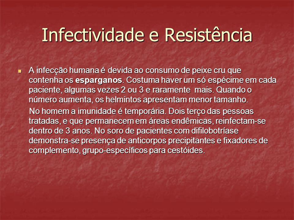 Infectividade e Resistência