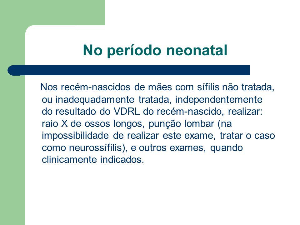 No período neonatal