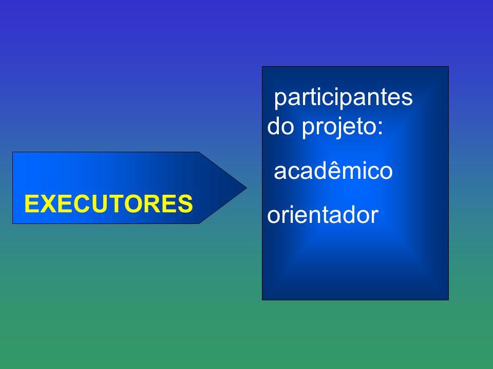 participantes do projeto: