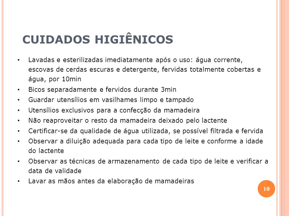 CUIDADOS HIGIÊNICOS