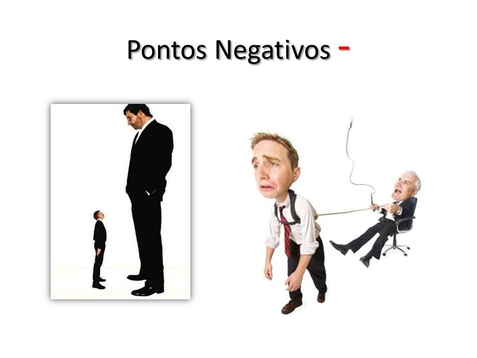 Pontos Negativos -