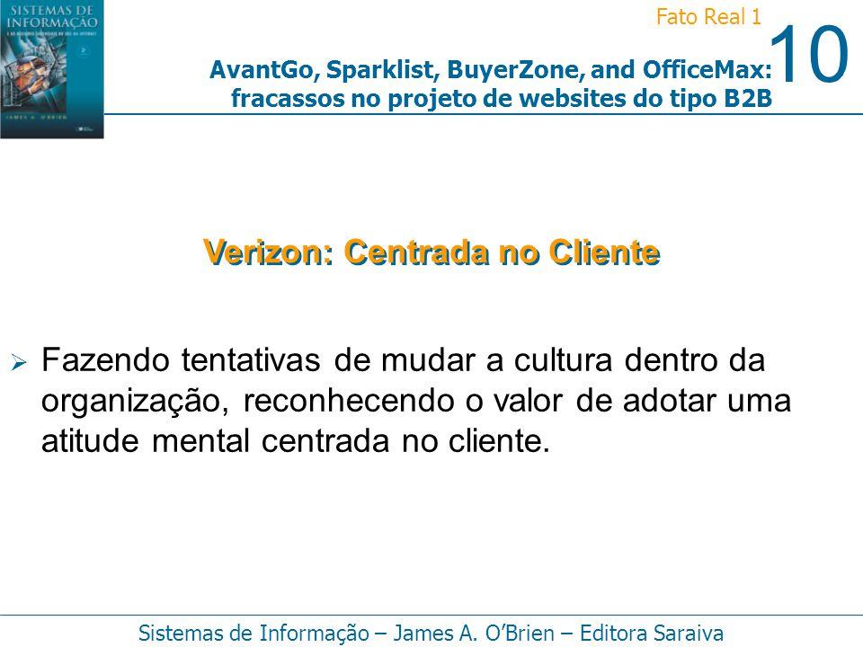 Verizon: Centrada no Cliente