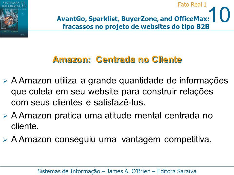 Amazon: Centrada no Cliente