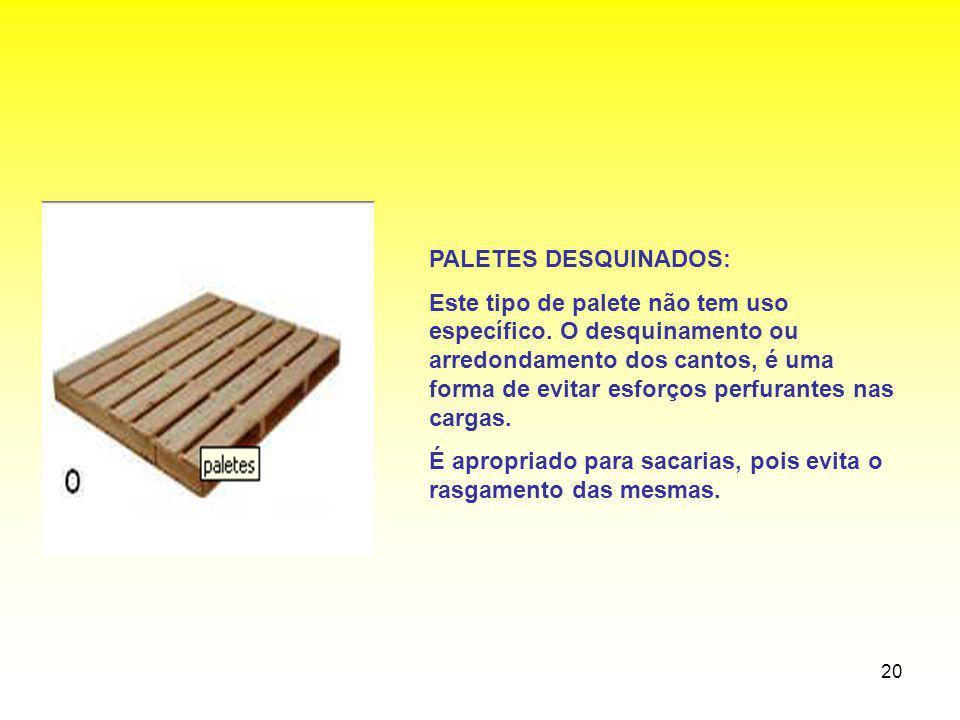 PALETES DESQUINADOS:
