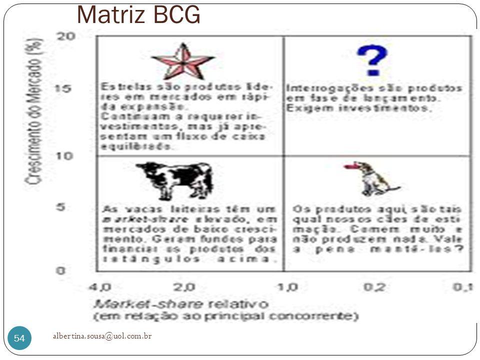 Matriz BCG albertina.sousa@uol.com.br