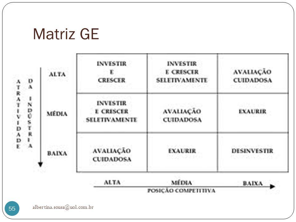Matriz GE albertina.sousa@uol.com.br