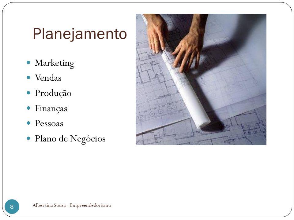 Planejamento Marketing Vendas Produção Finanças Pessoas
