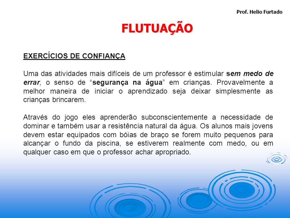 FLUTUAÇÃO EXERCÍCIOS DE CONFIANÇA