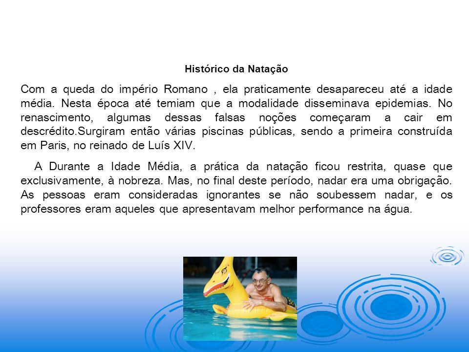 Prof. Helio Furtado Histórico da Natação.