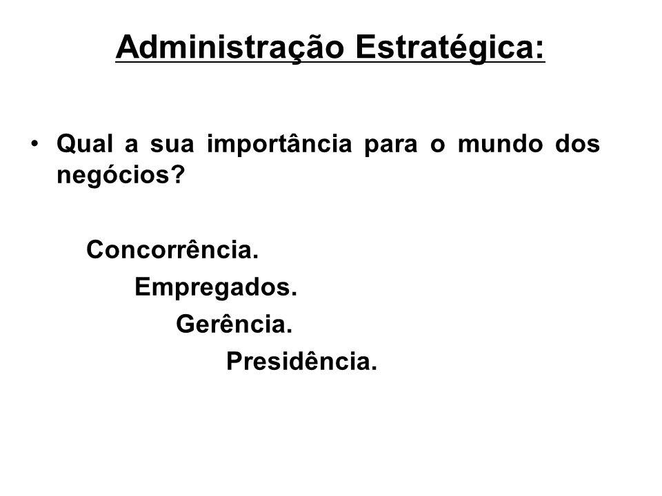 Administração Estratégica:
