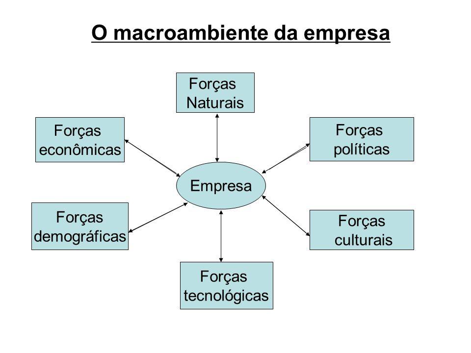 O macroambiente da empresa
