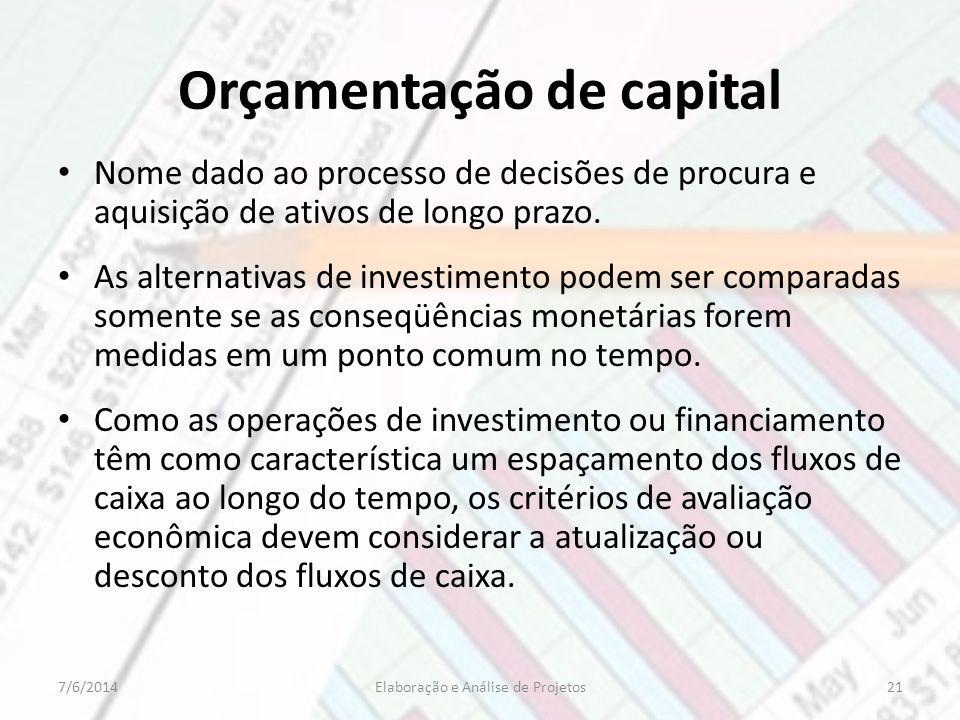 Orçamentação de capital